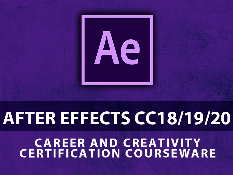 Adobe After Effects CC18|19|20 course image