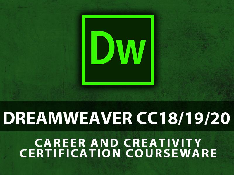 Adobe Dreamweaver CC18 course image