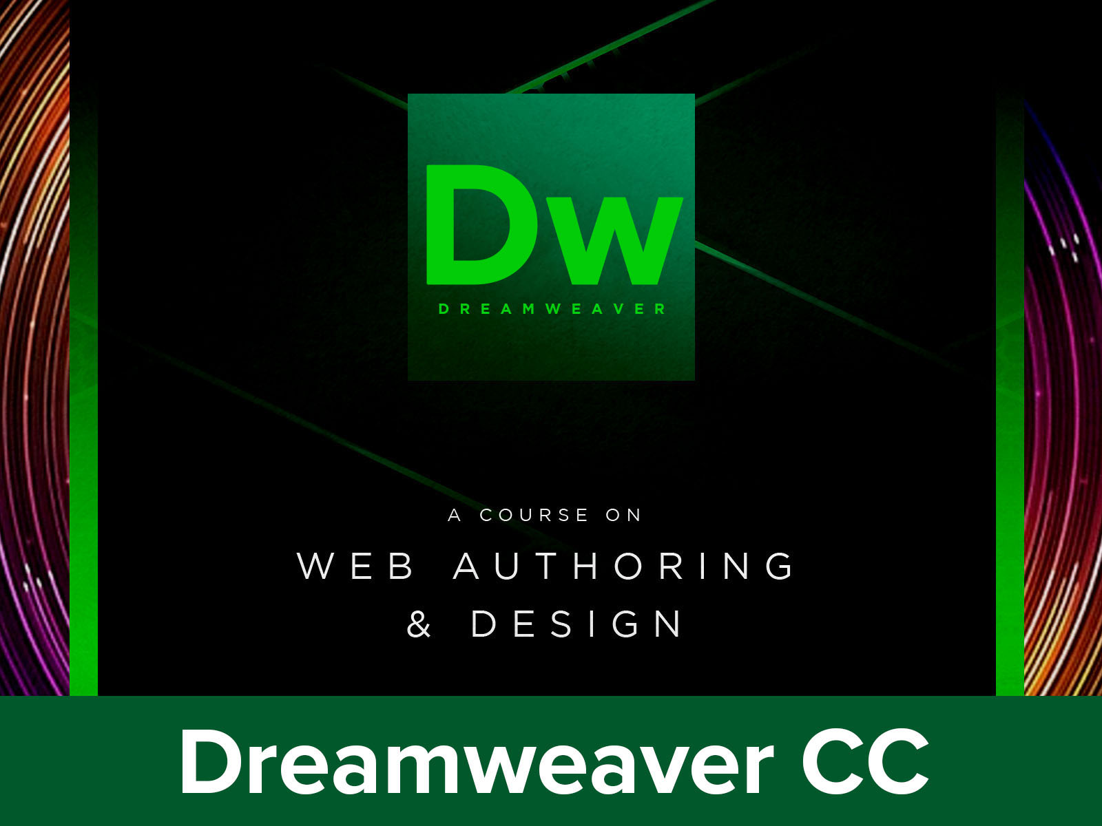 Adobe Dreamweaver CC18|19|20 course image