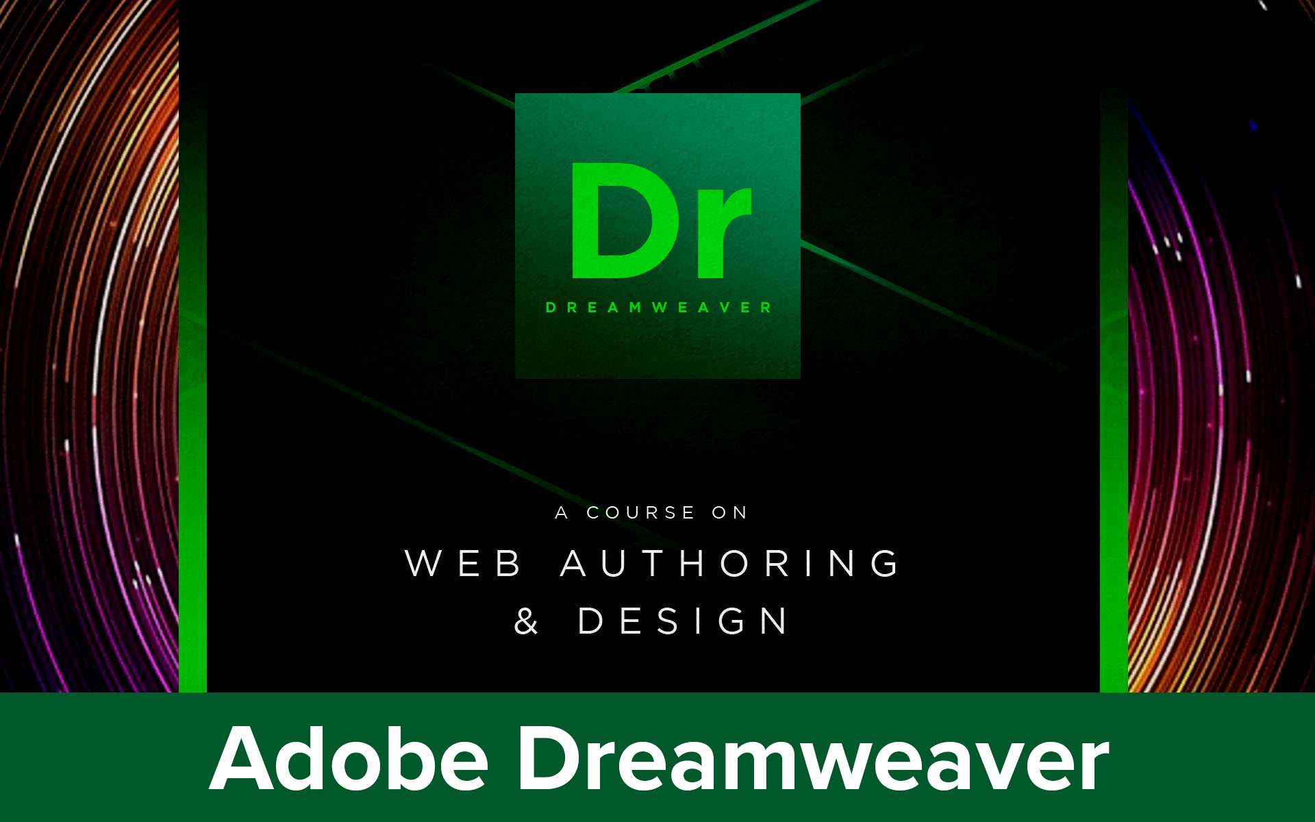 Adobe Dreamweaver CC18|19|20 course image