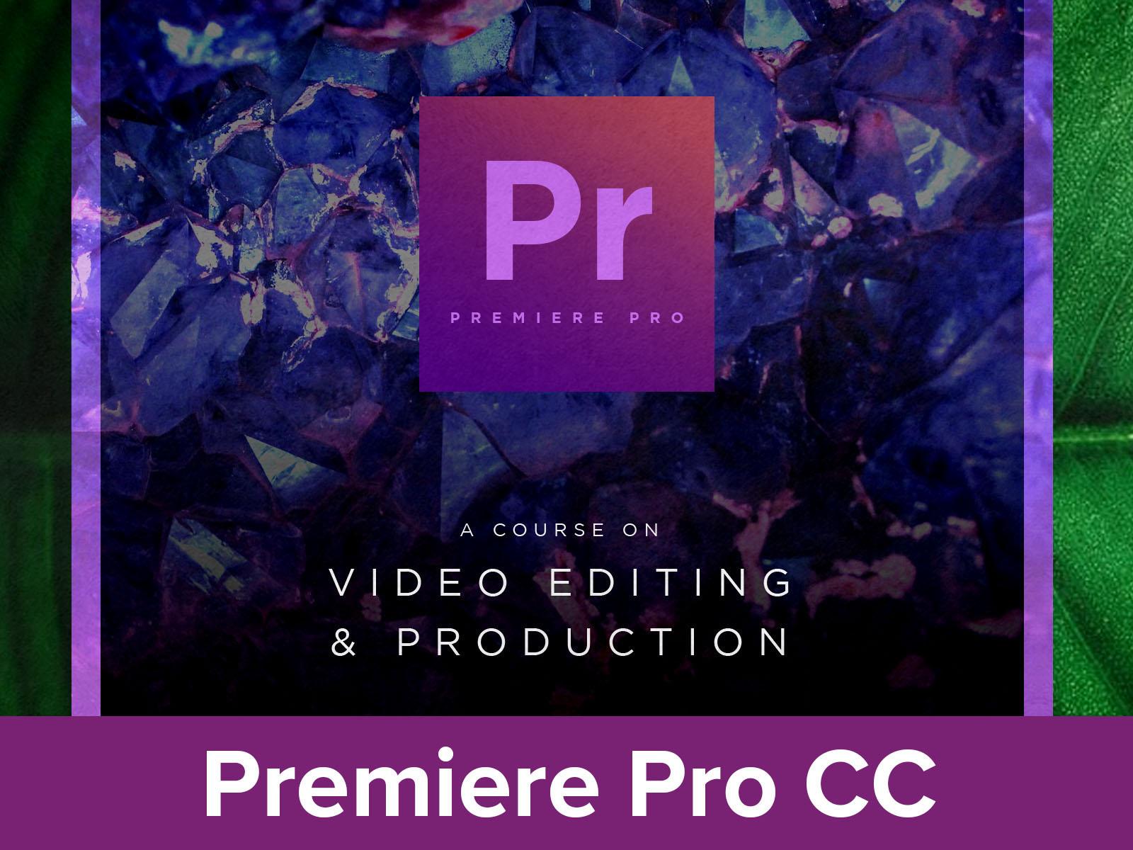 Adobe Premiere CC18 19 20 course image